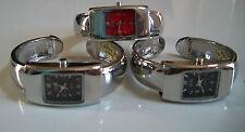 Designer Style Assorted Color Cuff Bangle Quartz Wrist Fashion Women's Watch