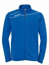 Uhlsport Mens Stream 3.0 Football Sports Zip Jacket Tracksuit Top Blue White