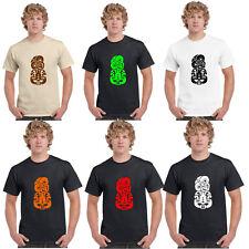 Hei Tiki Maori Design T Shirt