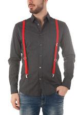 Camicia Daniele Alessandrini Shirt -45% Uomo Nero C1546B10633600-1