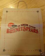 Britney Spears Circus Tote Bag NEW 2009 Concert Tour Album Paper Reusable