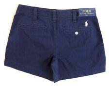 $89.5 Polo Ralph Lauren Pony Logo Twill Chino Beach Golf Mini Shorts 2 4 6 10