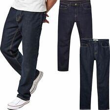"Mens Next Denim Loose Jeans Straight Leg Regular Fit Trousers Pants Size 30-46"""