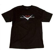 Fender Custom Shop Original Logo T-Shirt Black