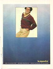 PUBLICITE 1980 Vêtements la SQUADRA