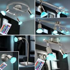 LED RVB Plafonniers Télécommande Mur Lampes de table CHANGEMENT DE COULEUR SPOTS
