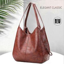 HOT Women Designer Leather Bag Shoulder Bag Large Capacity Ladies Handbags Tote