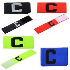 Fascia da capitano elastica per calcio ragazzi e adulti  in 5 colori