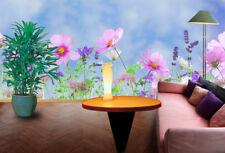 3D Wildflowers 125 Wall Murals Wallpaper Decal Decor Home Kids Nursery Mural