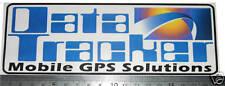 Caravan Data Tracker anti theft deterrent Stickers x 2 motorhome trailer gps etc