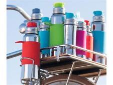 Pura Sport Edelstahl Flasche mit Silikon Sleeve und Big Mouth Sport Trinkverschl