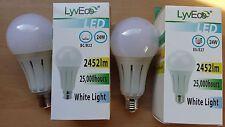 24w led gls ampoules lampe bc B22 es E27 150w 1 2 4 ampoules grande valeur!