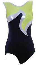 Gymnastic Leotard No Sleeves Girls Gym Velvet  FAST DLEIVERY UK 003C