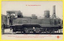 cpa LOCOMOTIVE à VAPEUR N° 2970 pour TRAIN LEGER et TRAMWAYS de 1867-68 Animés