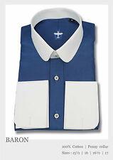 Uomo Club COLLETTO BANCHIERE Camicia per maschi Business Wear PENNY Cotone