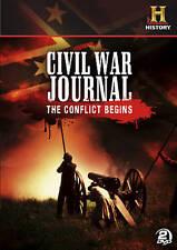 Civil War Journal: The Conflict Begins (DVD, 2011, 2-Disc Set)