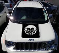 BigFoot Yeti Sasquatch Renegade Logo Graphic Vinyl Decal Sticker Reflective Suv