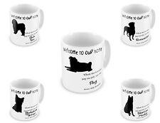 Dogs Run The House 'Variation' Novelty Gift Mugs