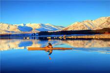Lake Tekapo New Zealand Rafting 3D Full Wall Mural Photo Wallpaper Vinyl Decal