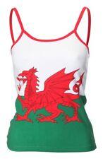 Ladies Welsh Flag / Welsh Dragon Camisole Vest Top - (C26)