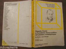 Auguste Comte e il problema storico politico nel pensiero contemporaneo F. TONON