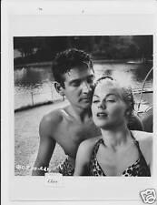 Barbara Hale busty Gene Barry VINTAGE Photo