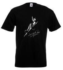 Keith Richards Autograph T Shirt Rolling Stones Mick Jagger Keef Brian Jones