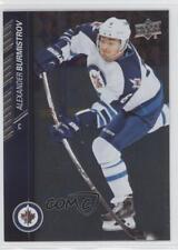2015-16 Upper Deck Silver Foil Board 447 Alexander Burmistrov Winnipeg Jets Card