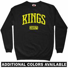Kings County Brooklyn Sweatshirt - NYC Nets New York Rap NY Crewneck - Men S-3XL