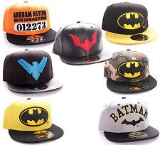 Batman Superhelden Snapback Baseball Cap Hip Hop Mütze Kappe DC Comics