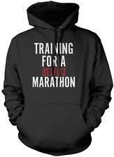 La formazione per una maratona Netflix show televisivo Chill bambini e adolescenti Felpa con cappuccio molti colori