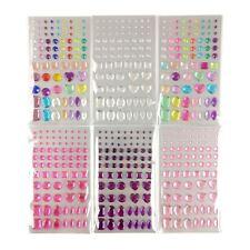 Packs of Multicolour Face Gems - Cosmetic Jewels Bling Festival Glitter