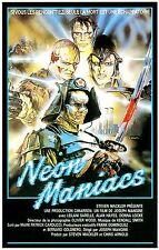Neon Maniacs Movie POSTER (1986) Slasher