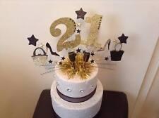 Grand âge et Star cake topper dans votre choix de couleurs 21st 40th 50th 70th 60
