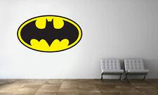 Batman Logo Wall Decal Sticker Dark Knight Colored Decor Vinyl Sticker