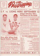 49er Diggings, April 1964 - Fan Newsletter