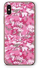 Apple iPhone Schutzfolie Skin Design Aufkleber X XS XR XS MAX Digital Lady Camo