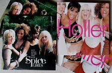 SPICE GIRLS * LET LOVE LEAD THE WAY / HOLLER * UK 2 PROMO & 2 CD SET * HTF!