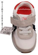 New Baby Boys Orange Blue White NEXT Trainers 4 5 Infant RRP £20