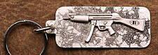 Empire Pewter MP5A2 Gun Keychain / Keyring