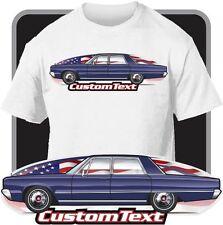 Custom Art T-Shirt 65 1965 dodge Polara 4 door sedan hardtop V8