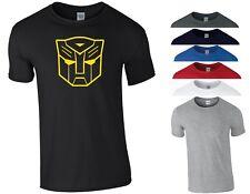 Bumblebee Transformers T Shirt Autobot Megatron Optimus Prime Kids Children Top