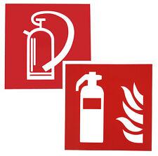 Rettungszeichen Feuerlöscher 10x10cm Hinweisschild