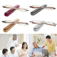 Unisex Mini Portable Metal Full Frame Reading Glasses Eyeglasses +1.00 to +4.00