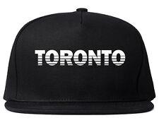 Toronto Canada College Snapback Hat Baseball Cap