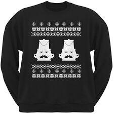 Nutcracker Ugly Christmas Sweater Black Adult Sweatshirt