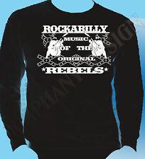 Rockabilly de Superdry Largo Original sleevethe 50's Rock And Roll Rockabilly Rebel