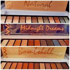 GWA Eyeshadow Palettes Natural,Bombshell,Midnight Dreams Eye Shadows Xmas Gift