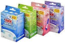 4 Boxes of  Duck Toilet Fresh Discs (24 discs) ~ Choice of Fragrance