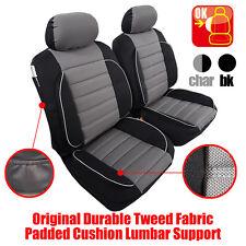 PAIR New Comfort Plus Lumbar Car Seat Cover Fit MAZDA 3 Sedan 6 CX3 CX5 CX9 MX5
